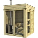 Outdoorsauna CUBE4YOU-202