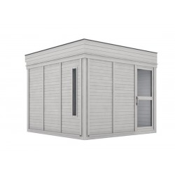 Outdoorsauna CUBE4YOU-303