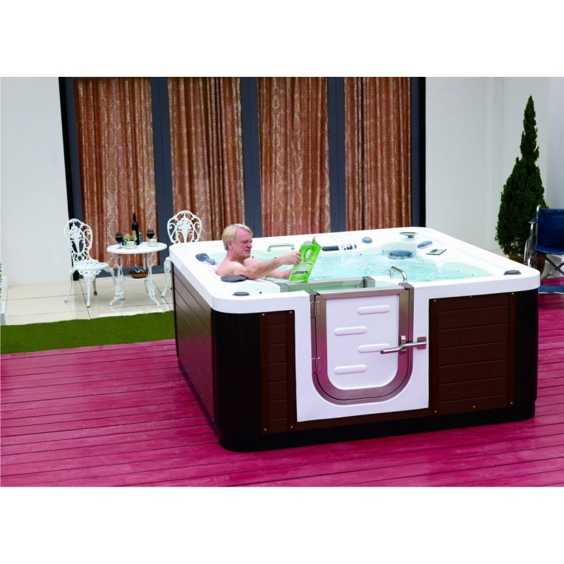 outdoorwhirlpool walk in spa 60. Black Bedroom Furniture Sets. Home Design Ideas
