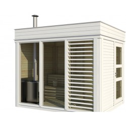 Outdoorsauna Cube inkl. Montage